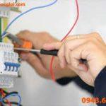 Báo giá sửa chữa điện nước 2018