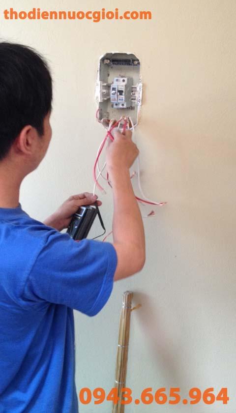 Lắp đặt đấu nối tủ điện