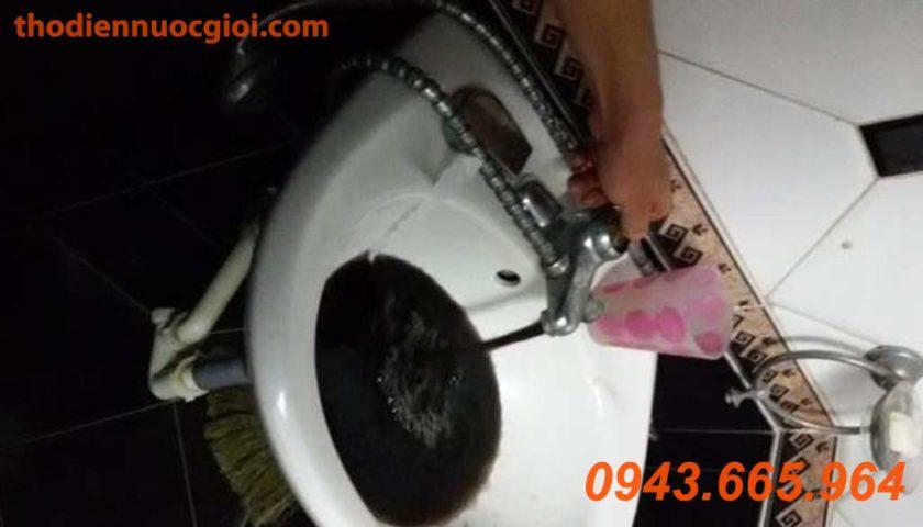 Súc rửa đường ống nước sinh hoạt